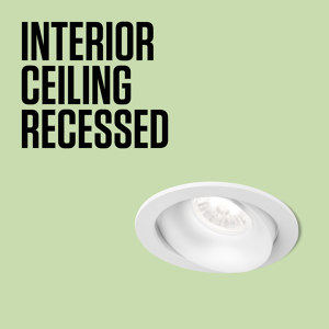 INTERIOR CEILING RECESSED