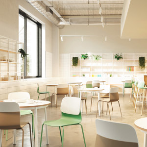 CAFETERIA REST SPACES