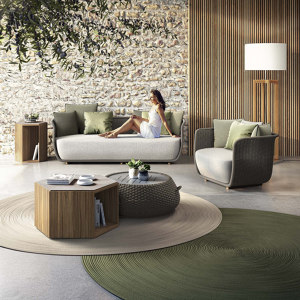SOFAS, ARMCHAIRS AND POUF