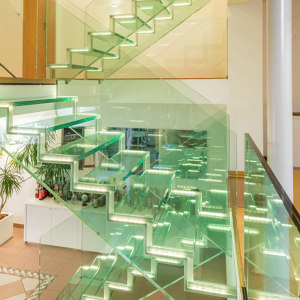 ALL GLASS STAIR COLLECTION