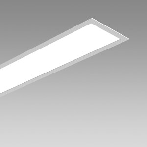 RECESSED CEILING AND RECESSED WALL LUMINAIRE
