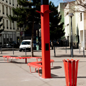 CONNECTED STREET FURNITURE