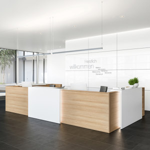 RECEPTION DESK SYSTEM