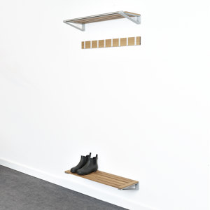 HAT AND SHOE RACK