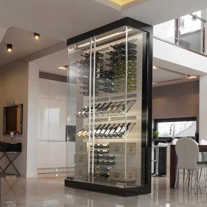 CUSTOM REFRIGERATED WINE CABINETS