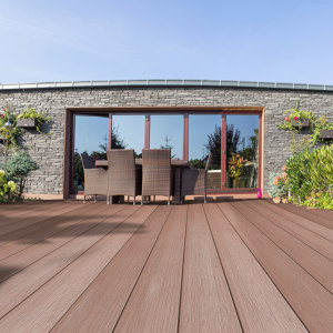 WOOD-COMPOSITE BUILDING MATERIALS (DECKING/ CLADDING/ FENCING/ SHADING)