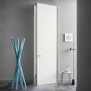 DOORS WITH ALUMINIUM FRAME