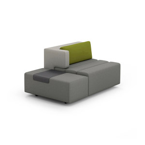 BENCH WITH COCKTAIL OTTOMAN