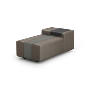 BENCH WITH ARMREST
