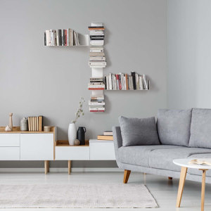 Wall Bookshelves and Bookcases