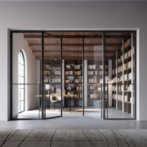 GLASS DOORS & PARTITIONS