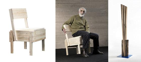 Enzo mari product design su architonic for Enzo mari sedia 1