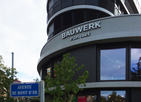 Bauwerk monde du parquet Lausanne
