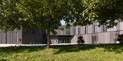 bauzeit architekten-Library | game library and municipal administration | Spiez -5