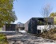 bauzeit architekten-Library | game library and municipal administration | Spiez -1