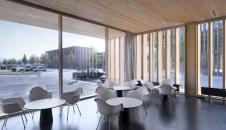 MGF Architekten GmbH-Hochschule für Technik und Wirtschaft, Neubau einer Cafeteria auf dem Burren -2