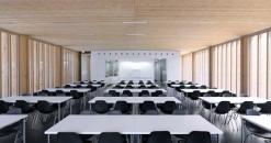MGF Architekten GmbH-Hochschule für Technik und Wirtschaft, Neubau einer Cafeteria auf dem Burren -3