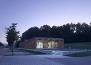 MGF Architekten GmbH-Hochschule für Technik und Wirtschaft, Neubau einer Cafeteria auf dem Burren -4
