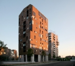 Cino Zucchi Architetti-Edilizia residenziale convenzionata  a torre, Nuovo Portello -4