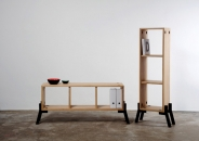 Reinhard Dienes-Tonic // Sideboard-Bookcase // Oak Wood -1