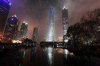 Motoko Ishii Lighting Design-Shanghai World Financial Center -1
