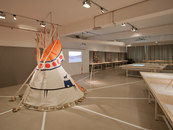 """KEPENEK-""""Learning about living"""", North American Native Museum, Zurich -1"""