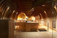 Koichi Takada Architects-Cave Restaurant (Sushi Train) -1