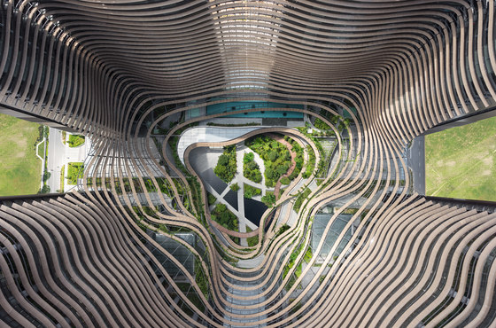 Marina One complex by Ingenhoven architects | Office buildings