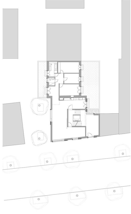 Urban residential building by huggenbergerfries | Apartment blocks