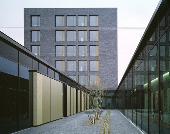 Syngenta/Masterplan, reception, chemistry and seed treatment building by Burckhardt + Partner AG Architekten Generalplaner | Office buildings