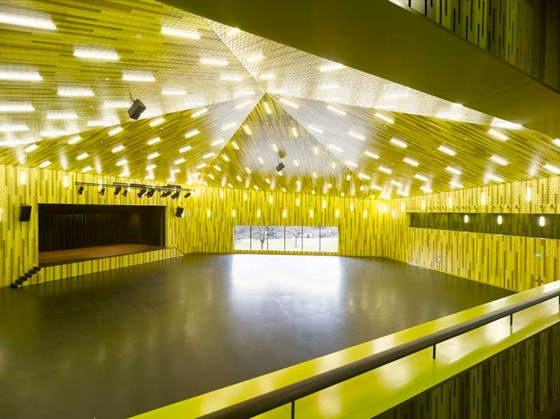 Festival Hall, Amriswil by Müller Sigrist Architekten | Church architecture / community centres