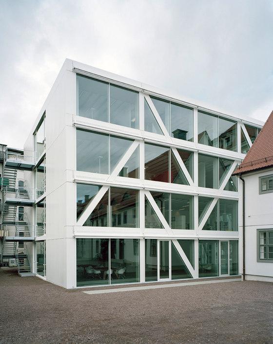 Neubau des Hauptsitzes der Kulturstiftung des Bundes von Dannheimer & Joos Architekten GmbH | Verwaltungsgebäude