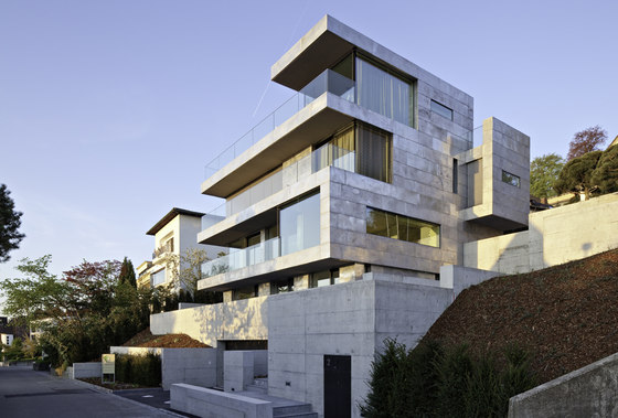 Two Single-Family Residences di ARNDT GEIGER HERRMANN | Case unifamiliari