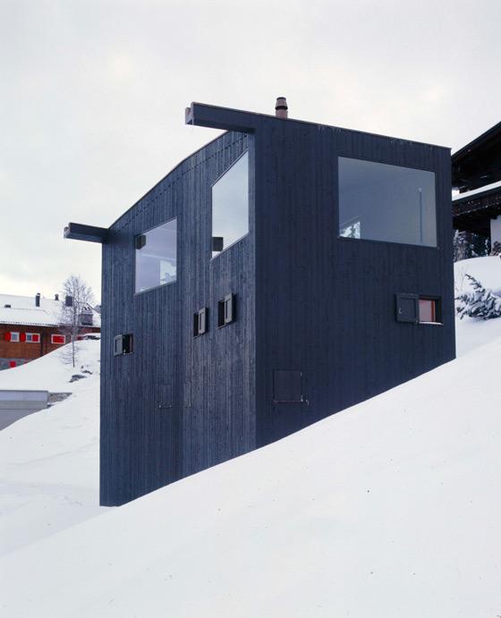 Mountain Chalet de EM2N | MATHIAS MÜLLER | DANIEL NIGGLI | Maisons particulières
