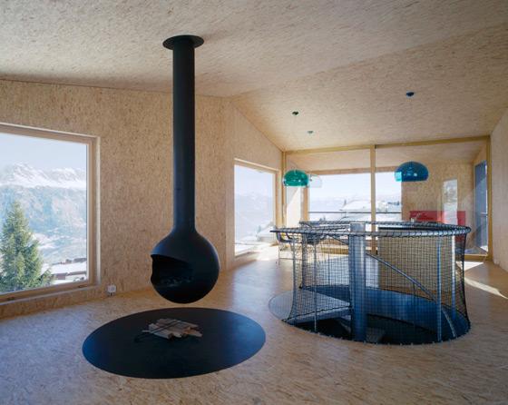 Mountain Chalet de EM2N | MATHIAS MÜLLER | DANIEL NIGGLI | Casas Unifamiliares