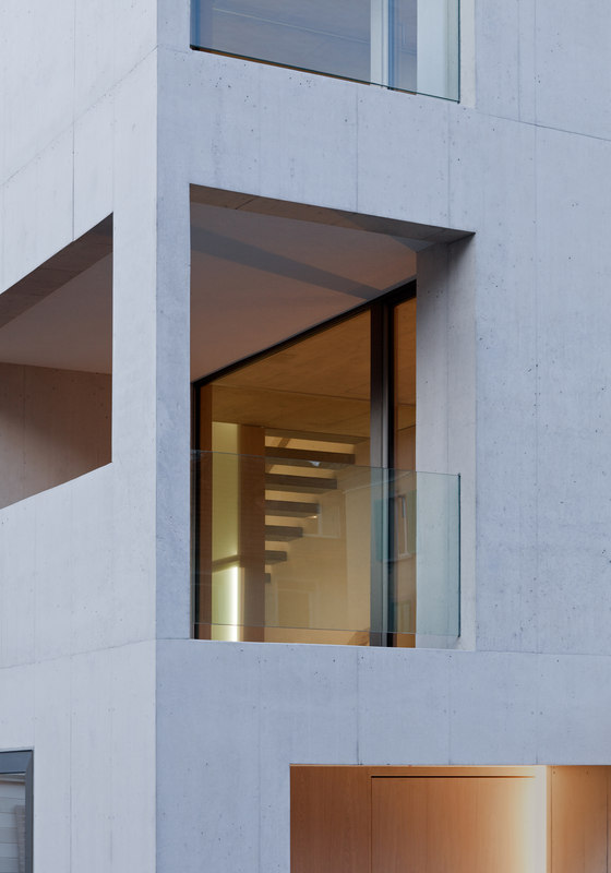 Townhouse Horgen by moos. giuliani. herrmann. architekten. | Detached houses