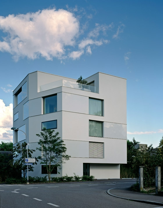 Stadthaus Aarau by Schneider & Schneider Architekten | Apartment blocks