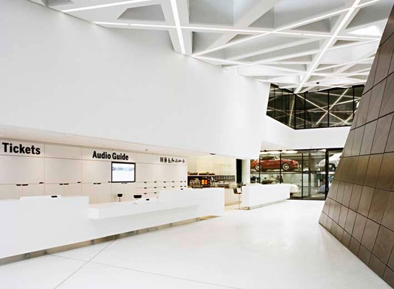 Porsche museum by DELUGAN MEISSL   Museums