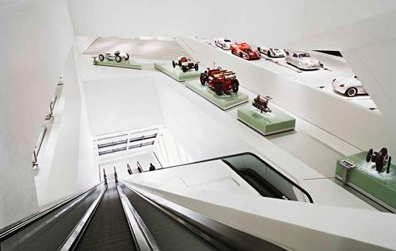 Porsche Museum von DELUGAN MEISSL | Museen