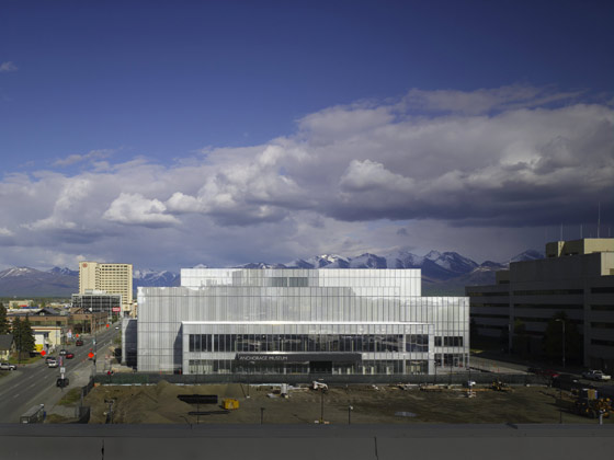 David Chipperfield Architects-The Anchorage Museum at Rasmuson Center