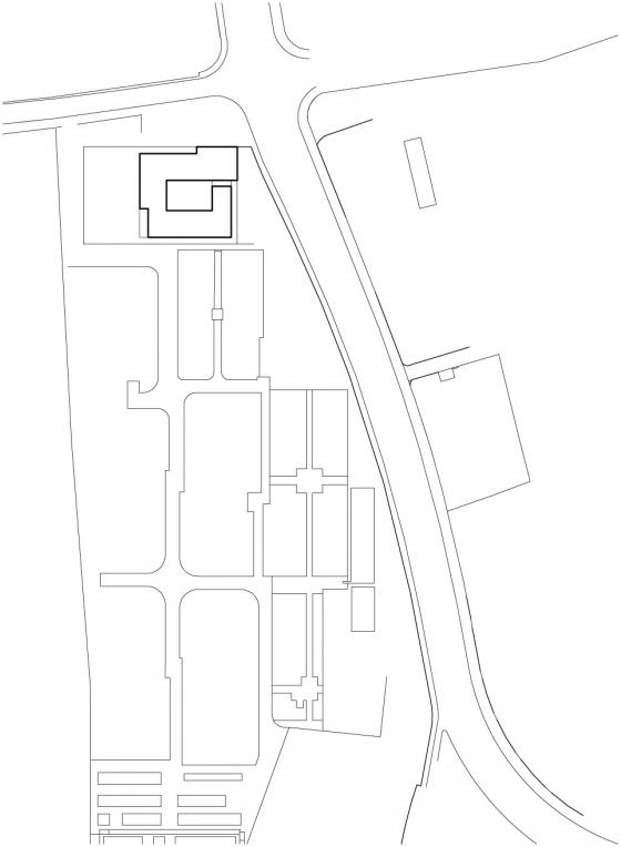 Centre funéraire régional à Nyon, Vaud de Aeby & Perneger SA | Édifices sacraux / Centres communautaires