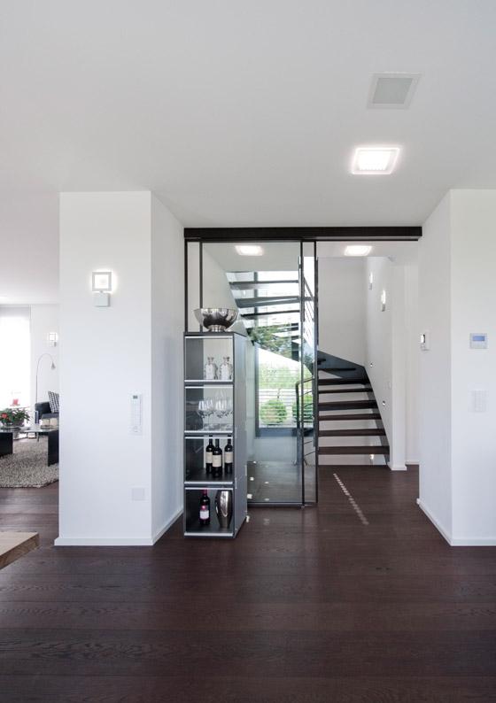 Moderne Innenarchitektur Einfamilienhaus Attraktive Auf Interieur,  Innenarchitektur Ideen