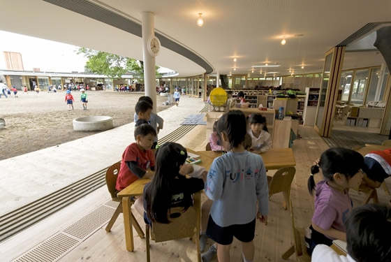 Fuji Kindergarten by Tezuka Architects | Kindergartens / day nurseries