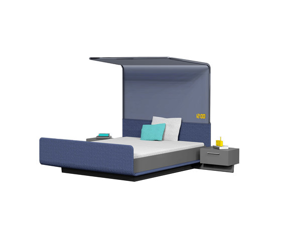 Modern four-poster bed by Designstudio speziell®   Prototypes