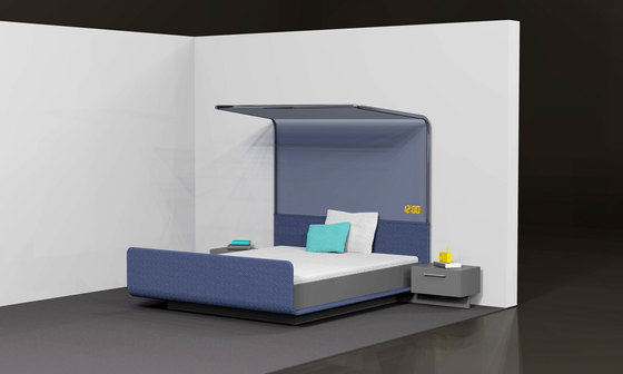 Modern Four Poster Bed By Designstudio Speziell Prototypes