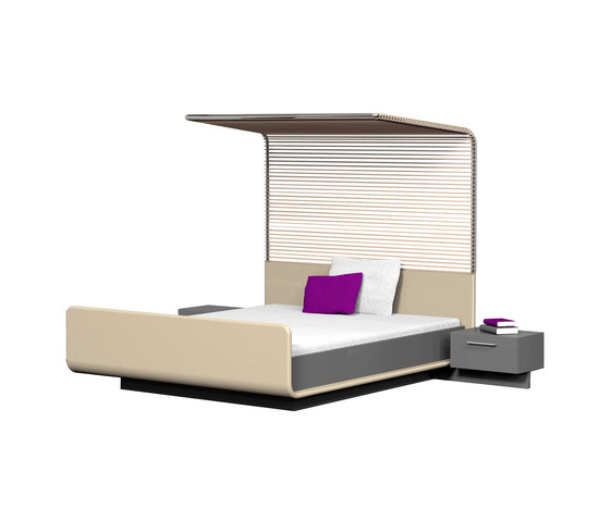 Modern Four Poster Bed By Speziell