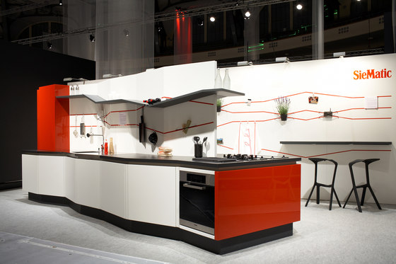 Concept kitchen / SieMatic by Designstudio speziell® | Trade fair stands