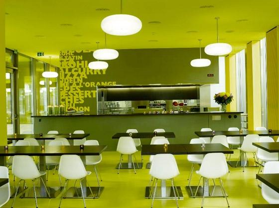 TERMINAL B de ANDRIN SCHWEIZER company | Cafeterías - Interiores