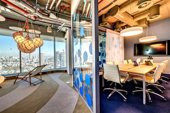 Google Israel Office Tel Aviv By Evolution Design Office