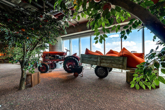 Google Israel Office Tel Aviv by Evolution Design | Office facilities